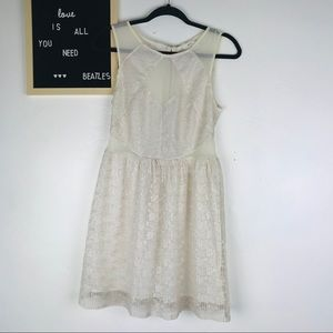 4 For $25💸 Pins & Needles cream lace dress